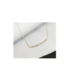 round cubic necklace[쥬얼리165] 2color_free size안나앤모드