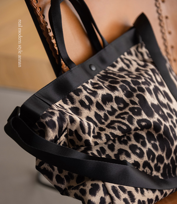 devew leopard tote bag[가방BA339] one color_free size안나앤모드
