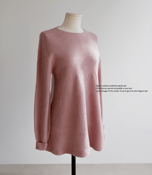 flare wholega cash wool knit[니트BEU42] 4color_free size안나앤모드