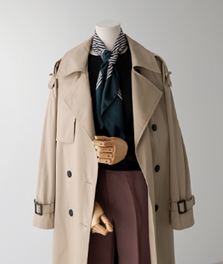 melbourne long trench coat[자켓AMN50] one color_free size안나앤모드