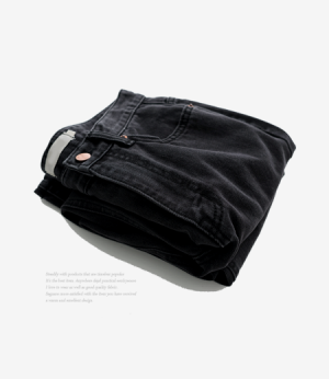 bitter black washing jean[데님AZ828] one color_3size안나앤모드