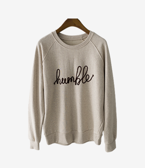 humble lettering mtm[티셔츠APF22] 4color_free size안나앤모드