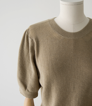 eael shoulder puff soft knit[니트BH536] 4color_free size안나앤모드