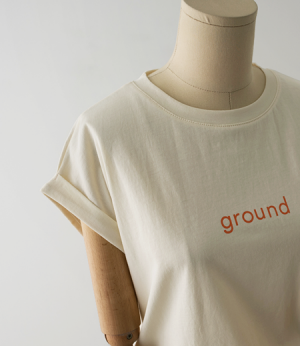 ground cap sleeve t[티셔츠AW748] 4color_free size안나앤모드