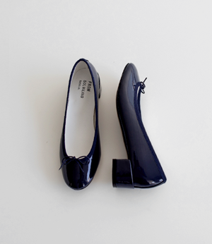 enamel ribbon middle heel[슈즈N852] 5color_5size안나앤모드