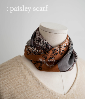 paisley coloration scarf[머플러BAB71] 4color_free size안나앤모드