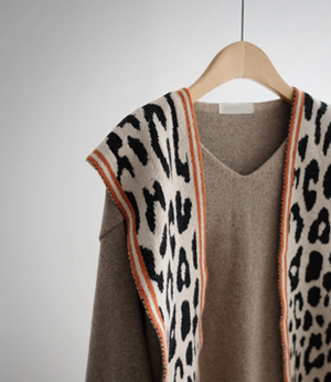 leopard wool shoulder shawl[머플러BCY82] 4color_free size안나앤모드