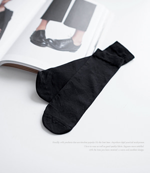 80D ankle socks[양말DM2208] one color_free size안나앤모드