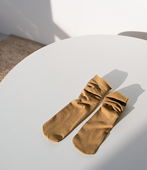 sense cotton shirring socks[양말BGJ24] 8color_free size안나앤모드