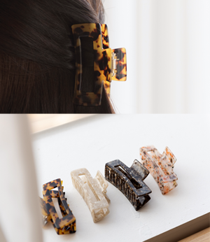 square daily barrette [쥬얼리BJY58] 4color_free size안나앤모드