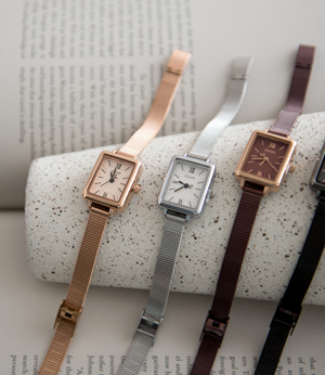 frame metal mesh watch[ETCBGM47] 4color_free size안나앤모드