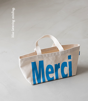 blue lettering mini eco bag[가방BLN16] one color_free size안나앤모드