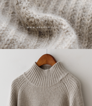haim wool turtleneck knit[니트BB474] 4color_free size안나앤모드