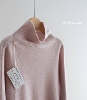 tamy wholega wool pola knit[니트BC315] 4color_free size안나앤모드