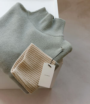 coloration cashmere wool knit[니트BDH49] 3color_free size안나앤모드