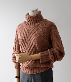 millano turtle neck knit[니트BDK58] 5color_free size안나앤모드