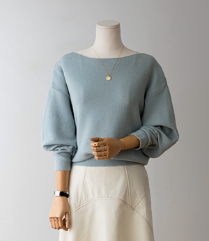 silit cotton puff knit[니트BFX85] 3color_free size안나앤모드