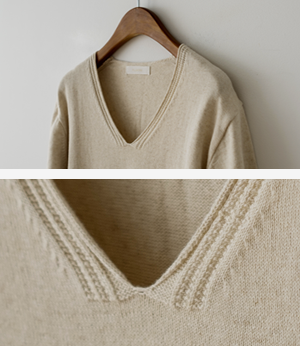 cupid v cotton linen knit[니트BGG44] 4color_free size안나앤모드