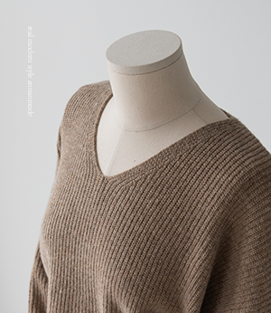 zenut wool cashmere v neck knit[니트BPH38] 5color_free size안나앤모드