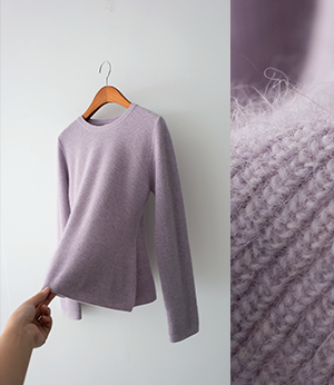 calet flare wool raccoon knit[니트BPY71] 4color_free size안나앤모드