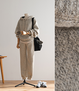 mable wool knit hood+jogger set[니트BQG73] 2color_free size안나앤모드