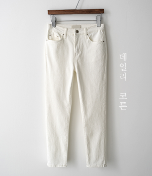 summer straight cotton pt[팬츠BJX99] 3color_4size안나앤모드