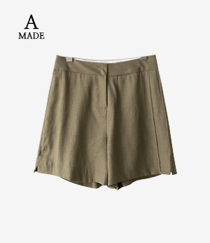 the anna slit linen shorts[팬츠BKD46] 2color_3size안나앤모드