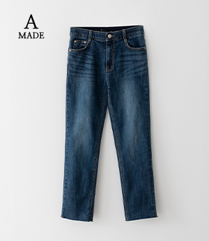 the anna just slim straight jean[데님BNG24] one color_3size안나앤모드