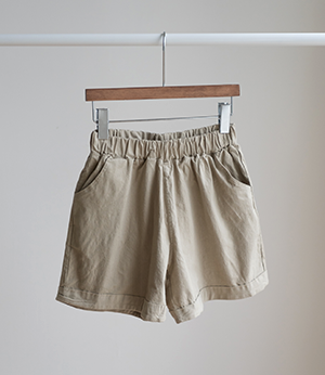 color washing span shorts[팬츠BKL24] 8color_free size안나앤모드