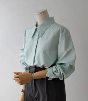 retail collar point shirt[셔츠BGL60] 3color_free size안나앤모드