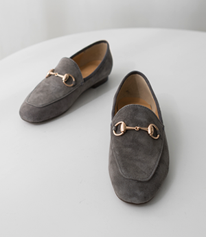 gold buckle Suede Loafer[슈즈AE636] 5color_6size안나앤모드