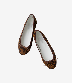 leopard flat shoes[슈즈APF49] one color_5size안나앤모드