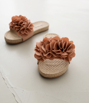 flower detail slipper[슈즈AY530] 4color_5size안나앤모드