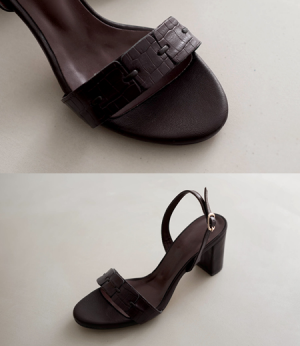 leather patch sandal hill[슈즈AYE33] 3color_6size안나앤모드