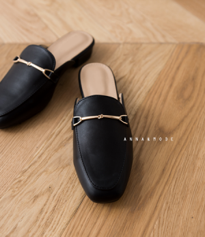 marisol gold mule[슈즈BAE34] 3color_5size안나앤모드
