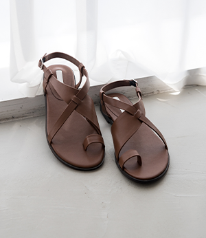 luise leather x sandal [슈즈BKF71] 3color_6size안나앤모드