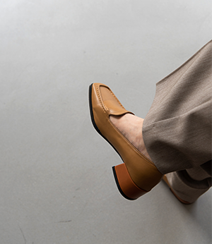 square stitch middle loafer[슈즈BNV59] 3color_5size안나앤모드