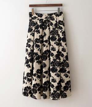 lect flower pleats pintuck sk[스커트BFP90] 2color_2size안나앤모드