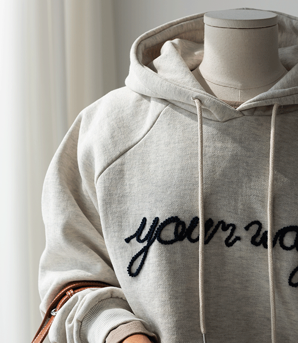cindy lettering gimo hood[티셔츠AR428] 4color_free size안나앤모드