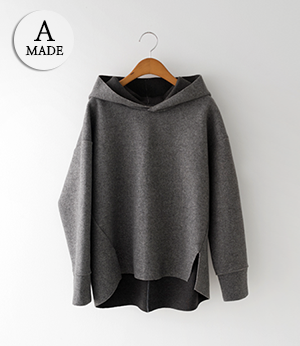 the anna wool even hood t[티셔츠BA816] 2color_free size안나앤모드