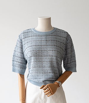 kerio tweed summer knit[니트BKE1] 3color_free size안나앤모드